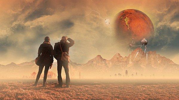 Jutro wybierz się z nami na Marsa